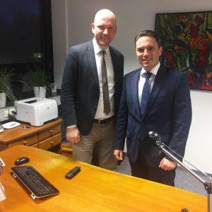 Als Dienstleister der Kommunen versteht sich der SPD-Landtagsabgeordnete Stefan Kämmerling, der jetzt Roetgens Bürgermeister Jorma Klauss einen Arbeitsbesuch abstattete.