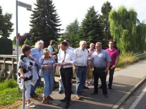 SPD-Ortsverein Eschweiler-Süd vor Ort in Volkenrath