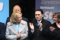 Hannelore Kraft zusammen mit Stefan Kämmerling und Eva-Maria Voigt-Küppers