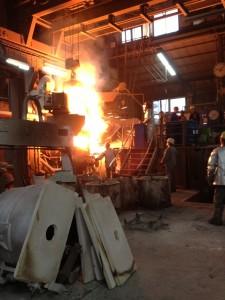 Betriebsbesichtigung bei der OTTO JUNKER GmbH in Simmerath-Lammersdorf