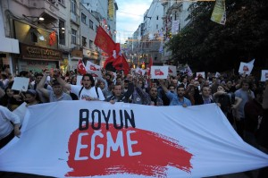 Demontranten am 07.06.2013 in Istanbul - CC-Linzenz; http://commons.wikimedia.org/; User: Mstyslav Chernov