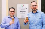 Stefan Kämmerling MdL und sein Mitarbeiter Oliver Liebchen; Bild: Michael Cremer