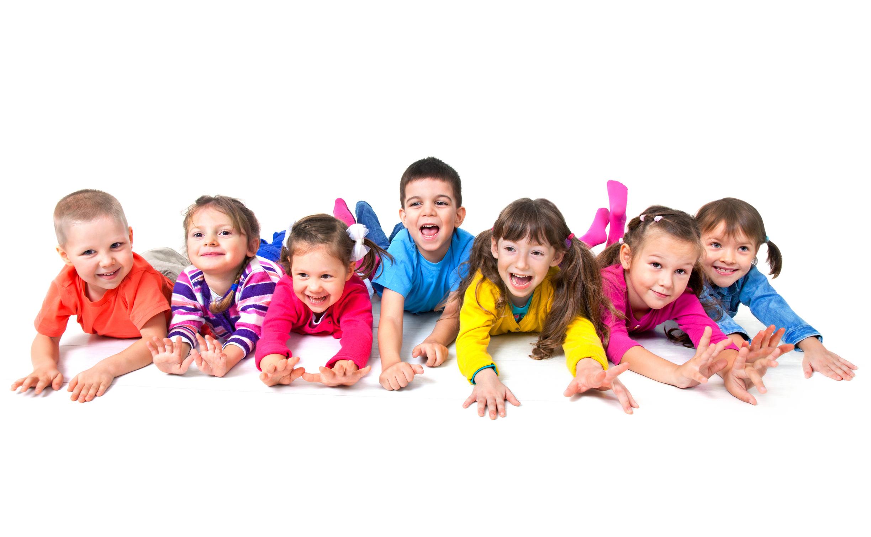 Дети на прозрачном фоне фото
