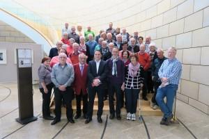IG BCE besucht mit 50 Kupferstädtern den Landtag