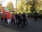 Solidaritätsmarsch vom DGB-Haus zum Bombardier-Werk an der Jülicher Straße