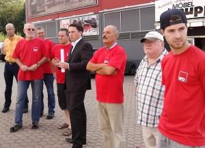 SPD-Ortsverein Eschweiler-West lädt zur Ortsbegehung in Pumpe, Stich und Röthgen ein. Unter anderem L238n und die Kita auf der Tagesordnung