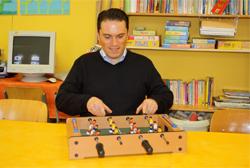 SPD Landtagskandidat Stefan Kämmerling beim Kinderschutzbund Eschweiler