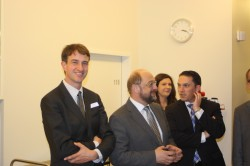 Mit EP-Präsident Martin Schulz in der Eifelklinik St. Brigida