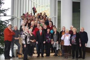 Stolberger Bürgerinnen und Bürger besuchen den Landtag NRW