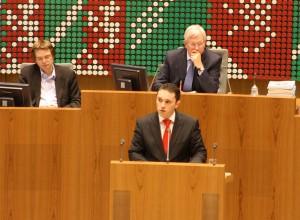 Stefan Kämmerling MdL im Plenum am 12.12.2012