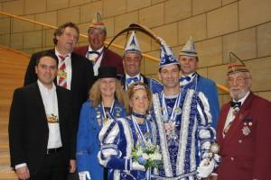 Prinz Marko I. und Prinzessin Heike I. von der KG Biebesse Höfen