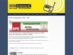 Screenshot Antenne AC