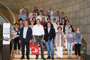 SPD-Ortsverein Eschweiler-Mitte erkundet das Landesparlament