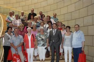 Seniorenbeirat der Stadt Stolberg besucht den Landtag