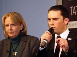 Stefan Kämmerling mit Hannelore Kraft